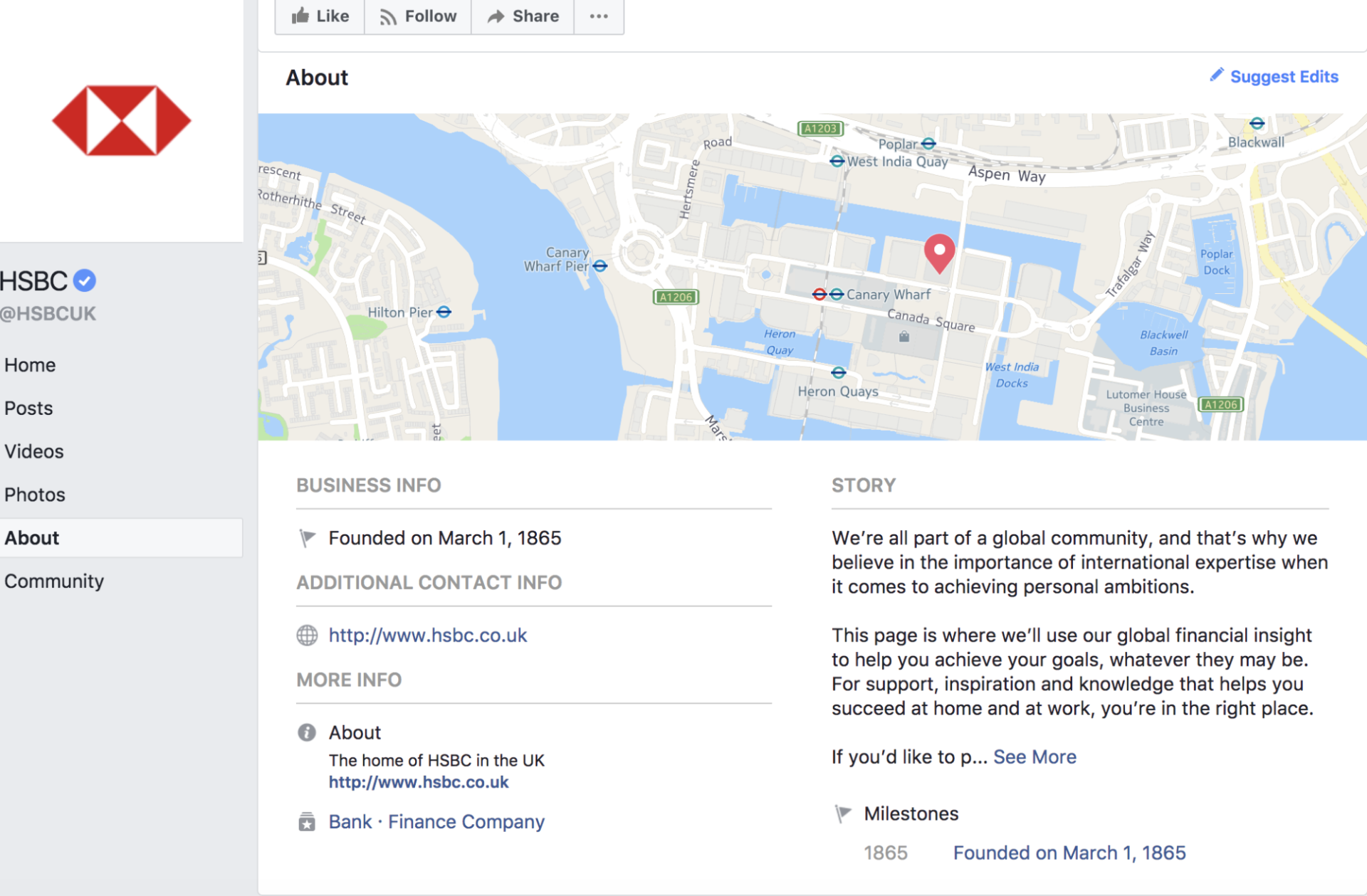 Use location services for Better Facebook Management