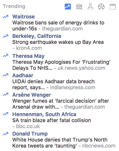 Keep an eye on trending topics